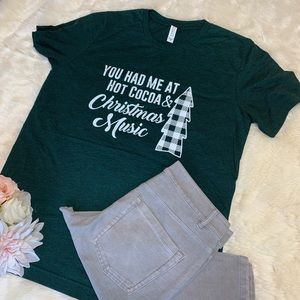 Christmas Shirt Green Medium